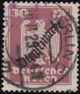 "GERMANY - Scott #O57 Eagle ""Overprinted"" / Used Stamp"