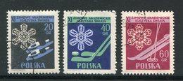 POLOGNE- Y&T N°852 à 854- Oblitérés