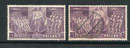 POLOGNE- Y&T N°426- Neufs Avec Charnière Et  Oblitéré - 1919-1939 République