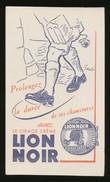 Buvard - Cirage Creme - LION NOIR - Buvards, Protège-cahiers Illustrés
