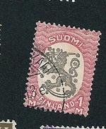 N° 77 Emission D'Helsinki   Timbre Finlande SUOMI (1918) Oblitéré