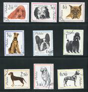 POLOGNE- Y&T N°1232 à 1240- Oblitérés (chiens)