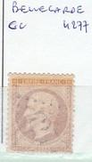 AIN - S/ 21 - 10c Napoleon III Bistre  - Oblit  GC  4277  (   Bellegarde  ) - 1849-1876: Période Classique