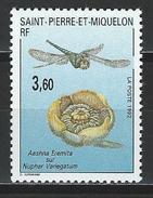 St. Pierre & Miquelon Mi 635 ** MNH Aeschna Eremita