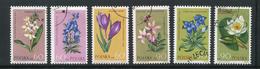 POLOGNE- Y&T N°1185 à 1190- Oblitérés (fleurs)