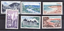 France  976 981  Série Touristique 1954 Neuf ** TB  MNH  Sin Charnela Cote 9.5 - Holidays & Tourism