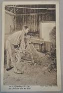 CPA Début 1900 Cylindrage Du Lin Het Brakélen Van Het Vlas Agriculture - Autres