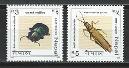 Nepal  Mi 752-53 ** MNH