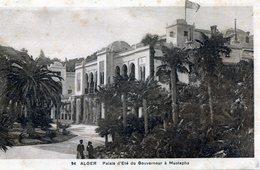 Alger. Palais D'Eté Du Gouverneur à Mustapha