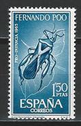 Fernando Poo  Mi 240 ** MNH Plectrocnemia Cruciata