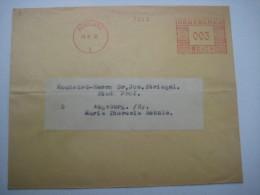 Firmen Freistempel , Meterstempel Auf Beleg Aus   1935 , Konstanz