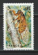 Frankreich  Mi 2043 ** MNH Tibicen Haematodes