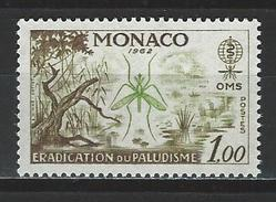 Monaco Mi 692 ** MNH Anopheles Labranchiae