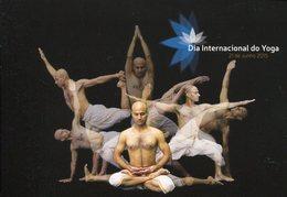 18875 Portugal, Stationery Card 2015 Yoga Day, Dia Internacional Do Yoga, Journè De Yoga