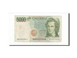 Italie, 5000 Lire, KM:111b, 1985-01-04, TB - [ 2] 1946-… : République