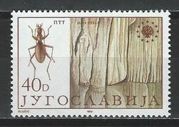 Jugoslawien Mi 2054 ** MNH Anophthalmus Schmidti