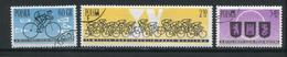 POLOGNE- Y&T N°1166 à 1168- Oblitérés (cyclisme)