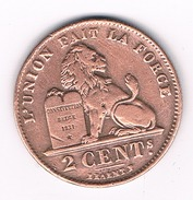 2 CENTIMES 1909 FR BELGIE /1772B/ - 1865-1909: Leopold II