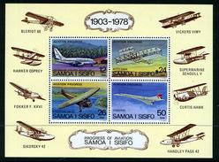 1978 - SAMOA  -  Catg.. Mi. Block 15 - NH - (UP554641.85.29)