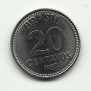 1987 - Brasile 20 Centavos, - Brasile