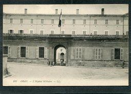 CPA - ORAN - L'Hôpital Militaire, Animé