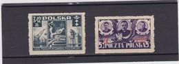 1946-47  Mi. 444 MNH,451MH, Scott B48 MNH, B53 MH, Yvert 471 MNH, 482 MH