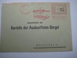 Firmen Freistempel , Meterstempel Auf Beleg Aus   1934 , KREUZAU (Kr. Düren) , , Etwas Verkürzt