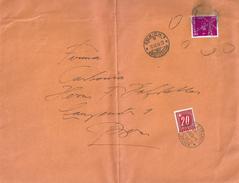 Taxierter Grossbrief  Zürich - Bern              1953
