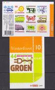 Nederland 2008 Groen / Green 10v (self Adhesive) ** Mnh (34979) @ Face Value - Neufs