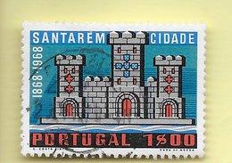 TIMBRES - STAMPS - PORTUGAL - 1970 - 1. CENTENAIRE DE LA VILLE DE SANTARÉM