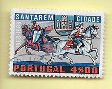 TIMBRES - STAMPS - PORTUGAL - 1970 - 1. CENTENAIRE DE LA VILLE DE SANTARÉM - TIMBRE CLÔTURE DE SÉRIE