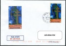 N°A74 Mémorial Au Général De GAULLE Sur Lettre Illustrée - Storia Postale
