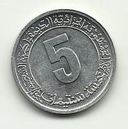 1974 - Algeria 5 Centimes, - Algeria