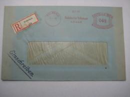 Firmen Freistempel , Meterstempel Auf Beleg Aus   1940 , Kulmbach