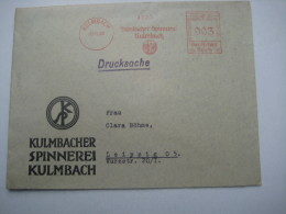 Firmen Freistempel , Meterstempel Auf Beleg Aus   1938 , Kulmbach
