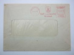 Firmen Freistempel , Meterstempel Auf Beleg Aus   1943 , Kulmbach