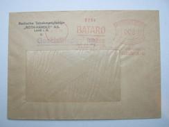 Firmen Freistempel , Meterstempel Auf Beleg Aus   1935 , LAHR