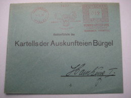 Firmen Freistempel , Meterstempel Auf Beleg Aus   1933  , LAMBRECHT