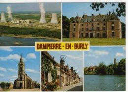 45 - LOIRET - DAMPIERE EN BURLY - CENTRALE EDF NUCLEAIRE - CHATEAU  RUE D'EN HAUT L'ÉTANG DU BOURG - Frankreich