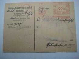 Firmen Freistempel , Meterstempel Auf Beleg Aus   1934 , Landshut