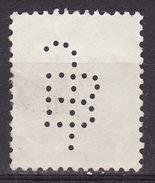 Yugoslavia Kingdom 1935  Mi 310x ,perfin, Used - Used Stamps
