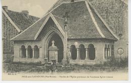 PREZ SOUS LAFAUCHE - Porche De L'Eglise Provenant De L'ancienne église Romane - Autres Communes