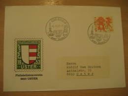 SANKT JAKOBUS Christianity Religion UFFIKON 1982 Cancel Cover SWITZERLAND