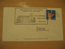 CAPE ISLAND BAPTIST CHURCH Christianity Religion CAPE MAY 1994 Cancel Cover USA