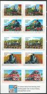 Australia 2004 The 150th Ann. Of Railways In Australia.Booklet ( Self Adhesive Stamp ).trains,locomotive. MINT.MNH.