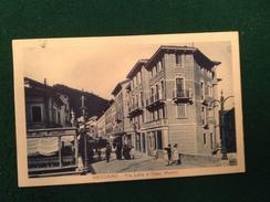 Cartolina Recoaro Via Lelia E Casa Munari Animata  Viaggiata 1932 - Vicenza