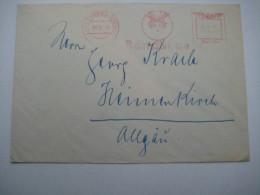 Firmen Freistempel , Meterstempel Auf Beleg Aus   1942  ,  Langenberg