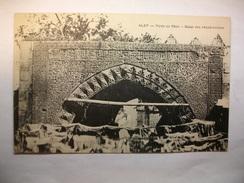 Carte Postale Syrie - Alep - Porte De Khan - Bazar Des Chaudronniers (Petit Format Correspondance Militaire Général B.) - Syrie
