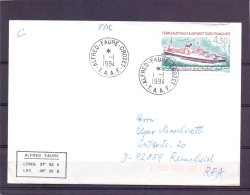 T.A.A.F - Le Kerguelen De Tremarec - Alfred Faure Crozet 1/1/1994   (RM11422) - Lettres & Documents
