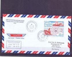 T.A.A.F - Gestion Scientifique Des Peches - Dumont D'Urville T.Adelie - 20/3/2002  (RM11423) - Lettres & Documents